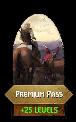 Premium PAss +25 levels